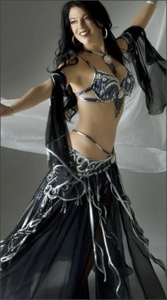 Belly dance costume.
