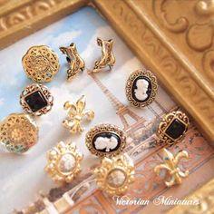 Dress It Up ボタン&パーツSet(Victorian Miniatures ビクトリアンミニチュア)