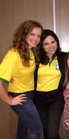Bex and Lana Parrilla #EverAfter
