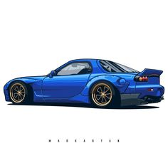The first project this year! Mazda RX7. T-shirts, covers, stickers, posters - already available in my store on #redbubble. Link in profile. I accept orders for automotive arts. #1 #olegmarkaryan #carartist #carart #designarf #cardrawing #automotive #automotivearts #carinstagram #cargram #carposters #speedhunters #shirtprint #jdmlife #jdmgram #jdm #mazda #rocketbunny #rx7 #mazdarx7 #fd3s #efini #drift