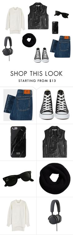 """Untitled #954"" by eleniakhalkatsi on Polyvore featuring PS Paul Smith, Converse, Native Union, McQ by Alexander McQueen, Ray-Ban, DKNY and B&O Play"