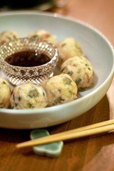 KICHI,KITCHEN2 : ホウレン草の鶏焼売と卵味噌