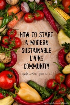 How to Start a Modern Sustainable Living Community (right where you're at) Link til den artikel som denne artikel er baseret på findes et stykke nede i teksten