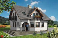 Atrium House, Modern Bungalow House, American Houses, Mediterranean Homes, Design Case, My Dream Home, Exterior Design, Future House, Ideal Home