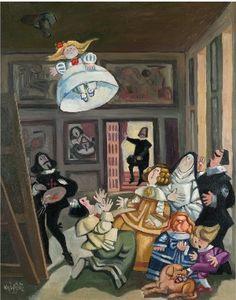 Arte y Libertad : Mingote. La vida cabe en un dibujo
