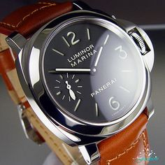 #Panerai Luminur PAM111 Pam 111 New P Series 44mm Mens #Watch Great Deal ends in 3days