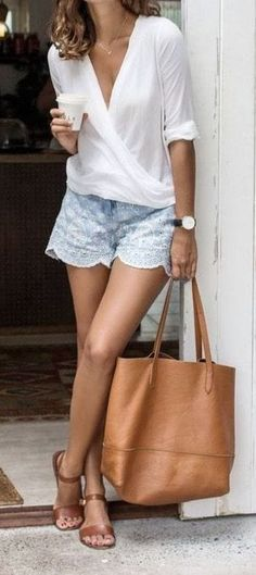 20 Summer vous devriez essayer dès maintenant Vol. 3 20 Summer vous devriez essayer dès maintenant Vol. Classy Outfits, Casual Outfits, Cute Outfits, Fashion Outfits, Womens Fashion, Brunch Outfit, Summer Wear, Style Summer, Summer Shorts