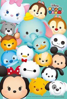 Tsum Tsum Party, Disney Tsum Tsum, Tsum Tsum Princess, Tsum Tsum Wallpaper, Stitch Tsum Tsum, Disney Minimalist, Really Cool Drawings, Disney Doodles, Cute Disney Pictures