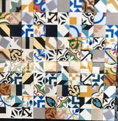 Tile, Quilts, Blanket, Inspiration, Scrappy Quilts, Tiles, Cement Floors, Bricks, Tiles