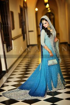 Bridal Party Wear by Riwaaj Bridal Couture 2014 - Pakistani Wedding Dresses, Pakistani Outfits, Indian Dresses, Indian Outfits, Pakistani Couture, Indian Couture, Kaftan, Walima Dress, Asian Wedding Dress