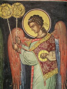 21 Byzantine Icons, Byzantine Art, Religious Icons, Religious Art, Order Of Angels, Greek Icons, Russian Icons, Religious Paintings, Biblical Art