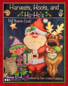 Harvests Hoots and Ho-Ho's  Decorative by SharonCookCreations
