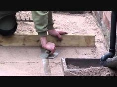 How to lay a block paving driveway in 4 days - Abel Landscaping - Watch Video - Garden Ideas Block Paving Driveway, Driveway Landscaping, Make It Yourself, Things To Sell, Landscape, Sell House, Southport, Projects, Marshalls