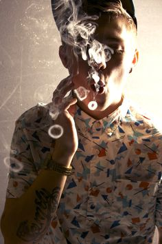 Ok so we're not in any way condoning smoking but this shirt print on the other hand - wow!