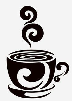 dibujos de tazas de cafe png - Buscar con Google