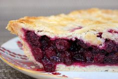 Saskatoon Pie (can substitute for Blueberries as well)