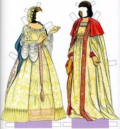 Ferdinand and Isabella Paper Dolls (4 of 10) by Tom Tierney, Dover Publications