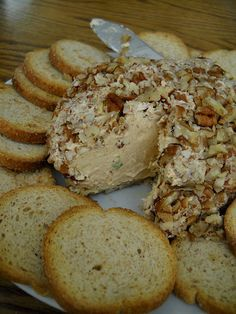 this is not your ordinary cheese ball!  It's LeBlanc's and it's Fabulous!