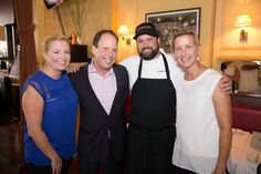 Mia Devillier, Zack Rosenburg, Chef Justin Devillier (of Top Chef) and Liz McCartney at La Petite Grocery hosts a benefit for the St. Bernard Project | NOLA.com #food #hurricanekatrina #katrina10 #nolasocialscene