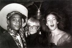 Basquiat, Andy and James St. James @ Limelight...an unique trio