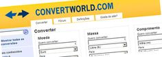 Para conseguir se resolver com tamanhos, medidas, etc.., mundo afora! http://www.convertworld.com/pt/