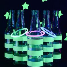 Create a glow-in-the-dark party your kids will love! Make your own ring toss game, starry background, and learn a few photography tips!