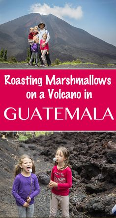 An adventure for the whole family...hiking #Pacaya Volcano in #Guatemala  www.worldschoolfamily.com