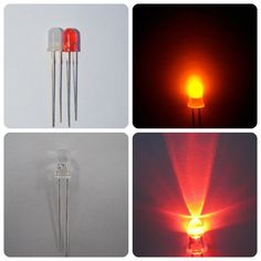 water clear high brightness round diffused 5mm red led