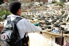 """""""دوار عين عتيق"""".. معاناة أقدم حيّ صفيحي في عاصمة المملكَة"""