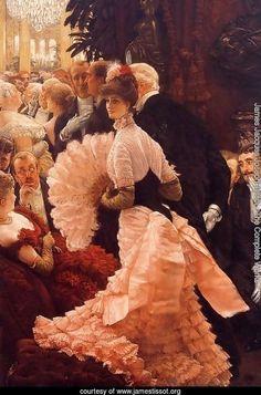 A Woman Of Ambition | James Jacques Joseph Tissot.
