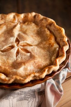 Mom's Apple Pie ~ perfect for the Fall and Winter holiday season, don't you think? OH SO YUMMY!