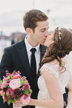 Romantic Brooklyn Winery Wedding