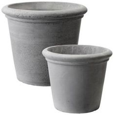 Idyll Home. (n.d.). Grey plant pots. [Online]. Available from: http://www.idyllhome.co.uk/potting-and-planting/grey-plant-pots-876-111-1966.php [Accessed: 15 April 2013] £18.00    Simple and understated set of 2 grey ceramic plant pots.    Larger pot   Dia 22cm  H 19cm    Smaller pot   Dia 16cm  H 14cm