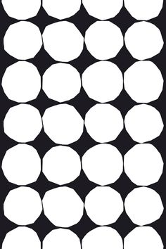 Marimekko : black and white Kivet