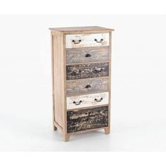Piccadilly Shabby Chic Painted 6 Drawer Chest