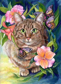 Tasha by Denise Freeman ~ Curious Cats series