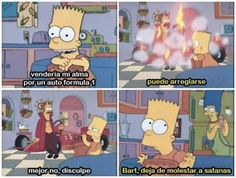 Simpsons Funny, Simpsons Quotes, The Simpsons, Old Cartoons, Animated Cartoons, Simpson Tumblr, Los Simsons, Rick Y, Funny Phrases