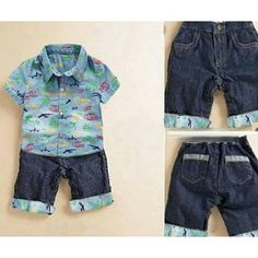Saya menjual SETELAN KEMEJA BAJU ANAK LAKI-LAKI & CELANA SEMI JEANS 3-5 TH - 98YW91 seharga Rp75.000. Dapatkan produk ini hanya di Shopee! https://shopee.co.id/pakaiangrosirecer/195614787 #ShopeeID   ==============   https://shopee.co.id/pakaiangrosirecer?tab=product