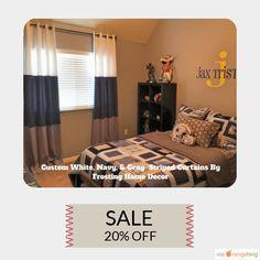20% OFF on select products. Hurry, sale ending soon!  Check out our discounted products now: https://www.etsy.com/shop/FrostingHomeDecor?utm_source=Pinterest&utm_medium=Orangetwig_Marketing&utm_campaign=1st%20week%20of%20Summer%20Sale   #etsy #etsyseller #etsyshop #etsylove #etsyfinds #etsygifts #interiordesign #stripes #onetofollow #supportsmallbiz #musthave #loveit