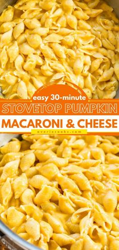 25 minutes · Serves 4 · This easy pumpkin recipe is a winner! Creamy, cheesy, and not to mention healthy, this Stovetop Pumpkin Macaroni and Cheese is comfort food without the guilt. Save this pin for the perfect… Best Thanksgiving Side Dishes, Best Pasta Recipes, Macaroni Cheese, 30 Minute Meals, Perfect Food, Kid Friendly Meals, Pumpkin Recipes, How To Cook Pasta, Side Dish Recipes