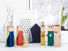 Auf der Mammilade n-Seite des Lebens   Personal Lifestyle Blog   5 Lieblinge und Inspirationen der Woche und Frohe Weihnachten   Weihnachtsdeko   DIY-Krippenfiguren aus Holz basteln mit Kindern
