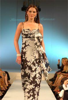 leonardo de armas, moda, altacostura, novias. Eva Ekvall,2006 One Shoulder, Hair Beauty, Dinner, Formal Dresses, Hair Styles, Fashion, Weapons Guns, Brides, Haute Couture