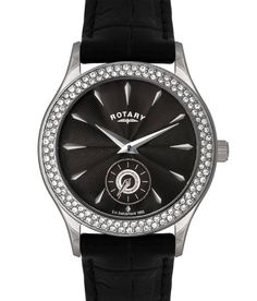 Rotary LS02908-04 Analog Black Dial Women's Watch