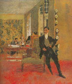 Vuillard, Edouard French 1868-1940 Biographic Details   The Art Dealers  Painted:  1908