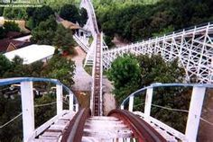 This was my first rollercoaster ride.  The screaming eagle at Six Flags St. Louis.  I was hooked.