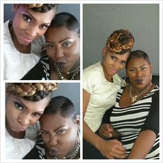 Me and my dynamic stylist cousin.  #accessmatized #mua #runway #baltimoremua #models #dmvmua #makeup #beat #beatandsnatched #makeupartist #cousins #wedding #weddings #essence #essencemagazine #Loreal #prom #eventplanner