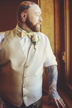 Tattooed Disney Themed Wedding