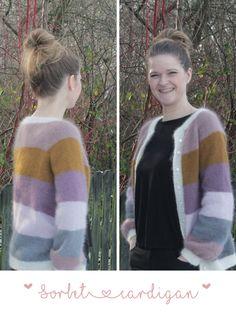 Sorbet, Sweater Cardigan, Men Sweater, Sweaters, Cardigans, Drop, Pullover, Knitting, Pattern