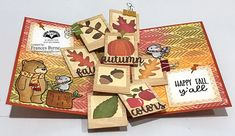 Make A Photo Collage, Scrapbook Pages, Scrapbooking, Paper Pop, Pop Up Cards, Happy Fall, Diy Beauty, How To Make, Ideas