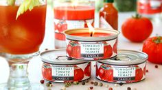 Bloody Mary candles